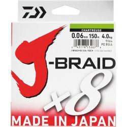 Tresse DAIWA J-Braid  X8 -...