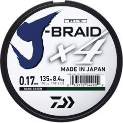 Tresse DAIWA J-Braid  X4 -...
