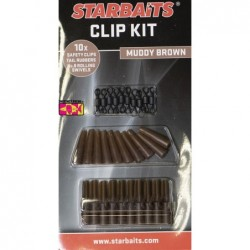 Clip Kit STARBAITS Marron
