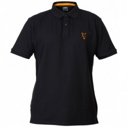 Polo FOX Black/Orange Polo...