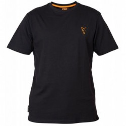Tee Shirt FOX Black/Orange