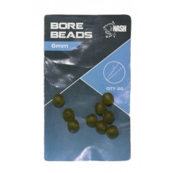 Perles NASH Bore Beads 6mm