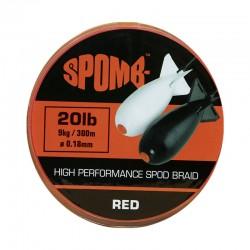 Tresse à Spod SPOMB Red